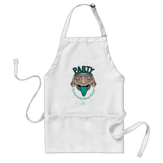 Ye Ole Lucky Green Tongue Adult Apron
