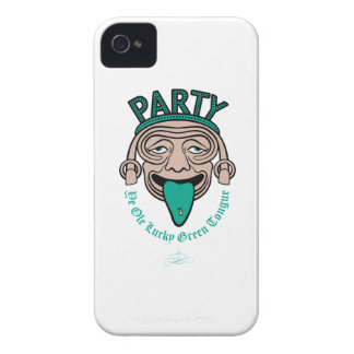 Ye Ole Lucky Green Tongue iPhone 4 Case-Mate Cases