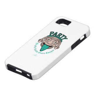 Ye Ole Lucky Green Tongue iPhone 5 Covers