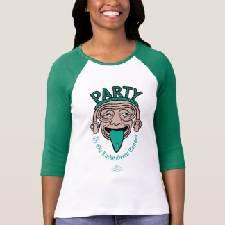 Ye Ole Lucky Green Tongue T Shirts