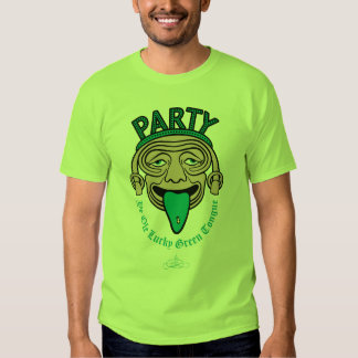 Ye Ole Lucky Green Tongue T-shirts