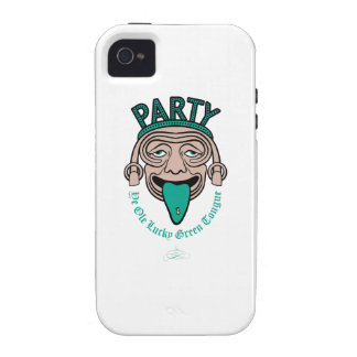 Ye Ole Lucky Green Tongue Vibe iPhone 4 Case
