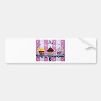 yea! cupcakes! bumper sticker