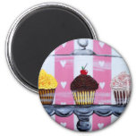 yea! cupcakes! magnets