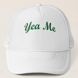 Yea Me Green Trucker Hat