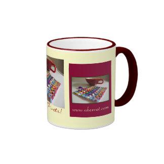 ¡Yea para Trivets! por gretchen la taza del café y