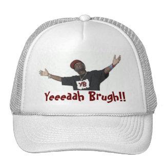 ¡Yeaaaaah Brugh! El casquillo blanco Gorras De Camionero