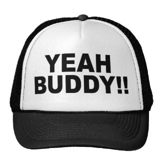Yeah Buddy Trucker Snapback Cap Trucker Hat
