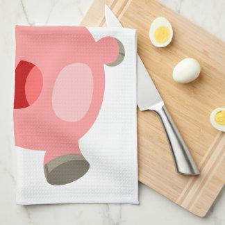 YEAH!! Cute Cartoon Pigs Kitchen Towel