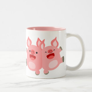 YEAH!! Cute Cartoon Pigs Mug