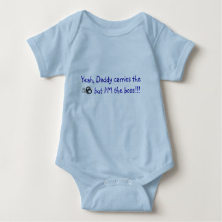 Yeah, Daddy carries the  badge and cuffs Shirt