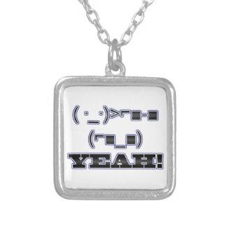 YEAH! Emoticon Necklaces