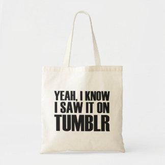 Yeah, I Know... Bag