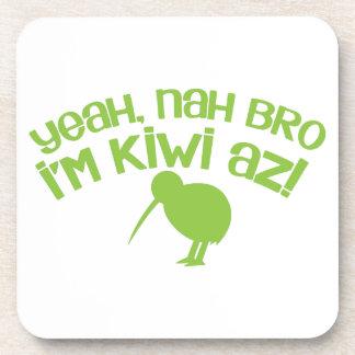Yeah nah Bro Bro I'm kiwi Drink Coaster