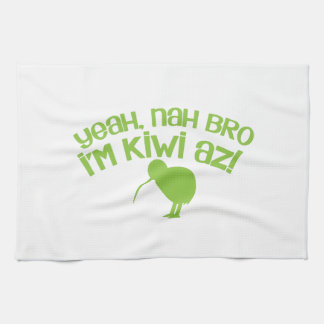 Yeah nah Bro Bro I'm kiwi Hand Towel