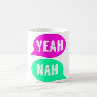 Yeah Nah Print Mug - A gift for Kiwis