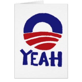 Yeah Obama Card
