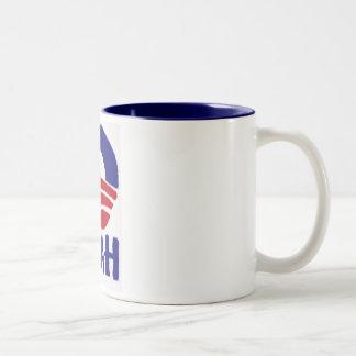 Yeah Obama Two-Tone Coffee Mug