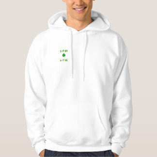 """Yeah Right"" Clover Hoodie"