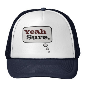 Yeah Sure Thinking Bubble Hat