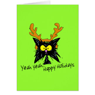 """Yeah Yeah...Happy Holidays"" Cards"