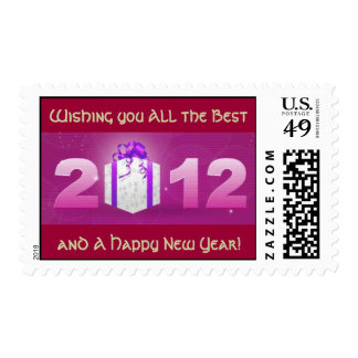 Year 2012 Greetings  Postage Stamp