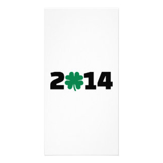 Year 2014 photo card