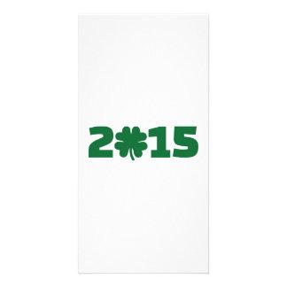 Year 2015 photo card