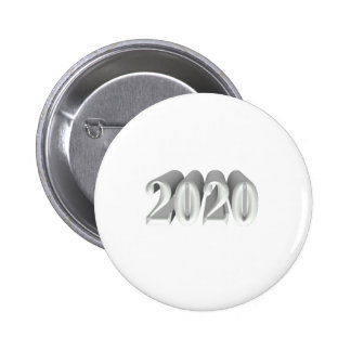 Year 2020 pinback buttons