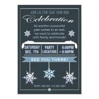 Year end invitations zazzle year end celebration christmas party invitation stopboris Images