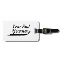 year end yearners luggage tag