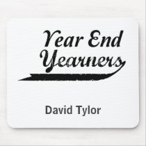 year end yearners mouse pad
