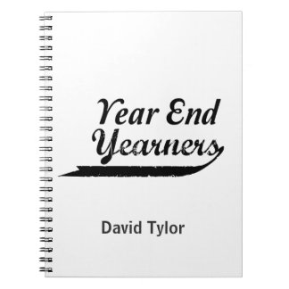 year end yearners notebook