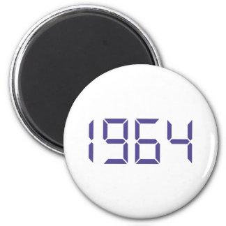 Year of birth - 1964 - Birthday Magnet