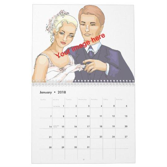 Year of Love Calendar