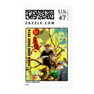 Year of Monkey Postage