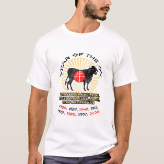 Year of Ox Qualities Basic T-Shirt
