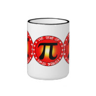 Year of Pi  3/14/15 9:26:53 Mugs