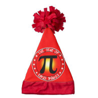 Year of Pi  3/14/15 9:26:53 Santa Hat