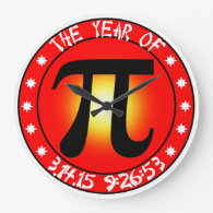 Year of Pi  3/14/15 9:26:53 Wall Clock