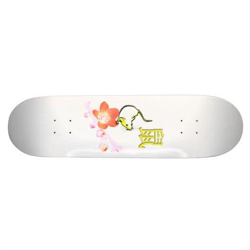 Year of Rat Skateboard