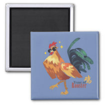 Year of Rooster, Cool Rooster with Sunglass Magnet