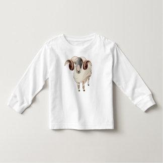 Year of Sheep Toddler Long Sleeve, White Toddler T-shirt