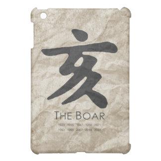 Year of the Boar iPad Mini Cases