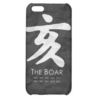 Year of the Boar iPhone 5C Case