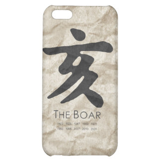 Year of the Boar iPhone 5C Cases
