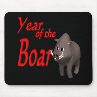 Year Of The Boar Mouse Pad