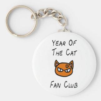 Year Of The Cat Fan Club Key Chain
