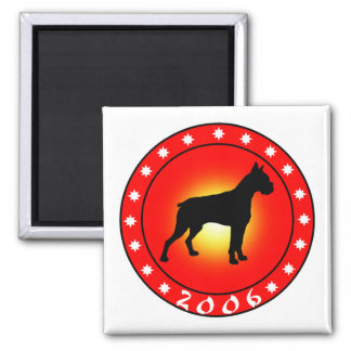 Year of the Dog 2006 Magnets