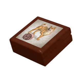 Year of the Dog Chinese Zodiac Animal Keepsake Boxes